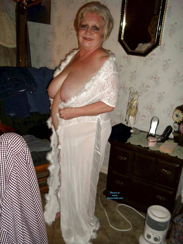 Pic #2 Just Trying To Be Seductive In My Golden Years - Big Tits, Lingerie, Mature, Granny