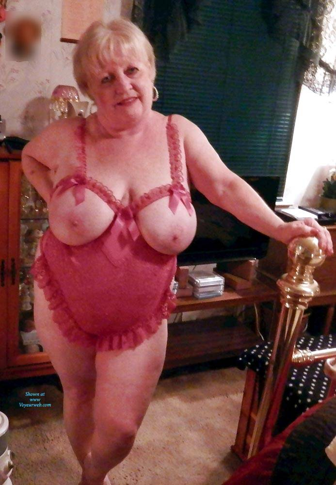 Pic #4 Just Trying To Be Seductive In My Golden Years - Big Tits, Lingerie, Mature, Granny