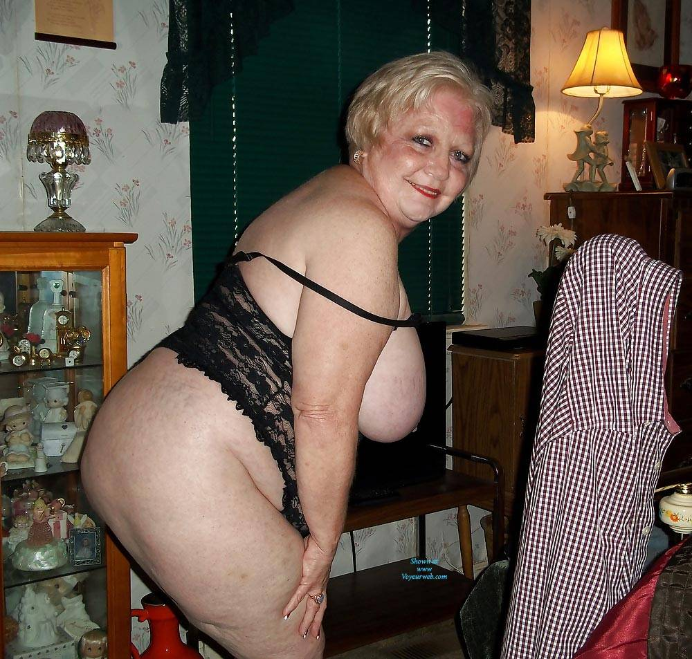 Pic #6 Just Trying To Be Seductive In My Golden Years - Big Tits, Lingerie, Mature, Granny