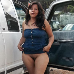 Amiga Exhibicionista - Big Tits, Brunette, Outdoors, Amateur