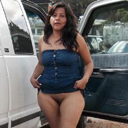 Amiga Exhibicionista - Big Tits, Brunette, Outdoors, Amateur