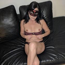 My New Purple Panties And Bra! - Brunette, Lingerie, Amateur, Facials, Wife/Wives