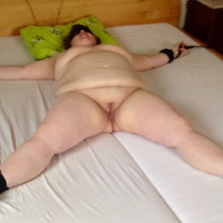 Tied Up To Be Exposed - Nude Amateurs, BBW, Big Tits, Brunette, Shaved, Wife/Wives