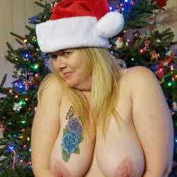 Large tits of my wife - Kristi