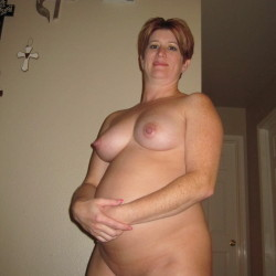 Large tits of my wife - Redhot