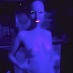 Blacklight BJ - Blowjob, Amateur