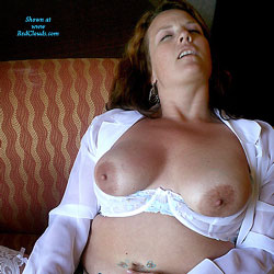 A New Huge Toy - Big Tits, Toys, Women Using Dildos, Lingerie