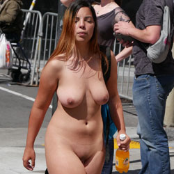 Walking Naked In The Street - Big Tits, Brunette Hair, Exposed In Public, Full Nude, Hanging Tits, Huge Tits, Naked Outdoors, Nude In Public, Nude Outdoors, Perfect Tits, Shaved Pussy, Showing Tits, Topless Girl, Hot Girl, Naked Girl, Sexy Body, Sexy Boobs, Sexy Face, Sexy Girl, Sexy Legs