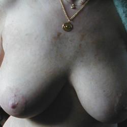 Medium tits of my wife - MARIE