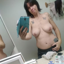 Camille The Horny Slut - Big Tits, Brunette, Amateur, Tattoos