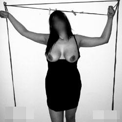Roped On Christmas Night  - Big Tits, Amateur
