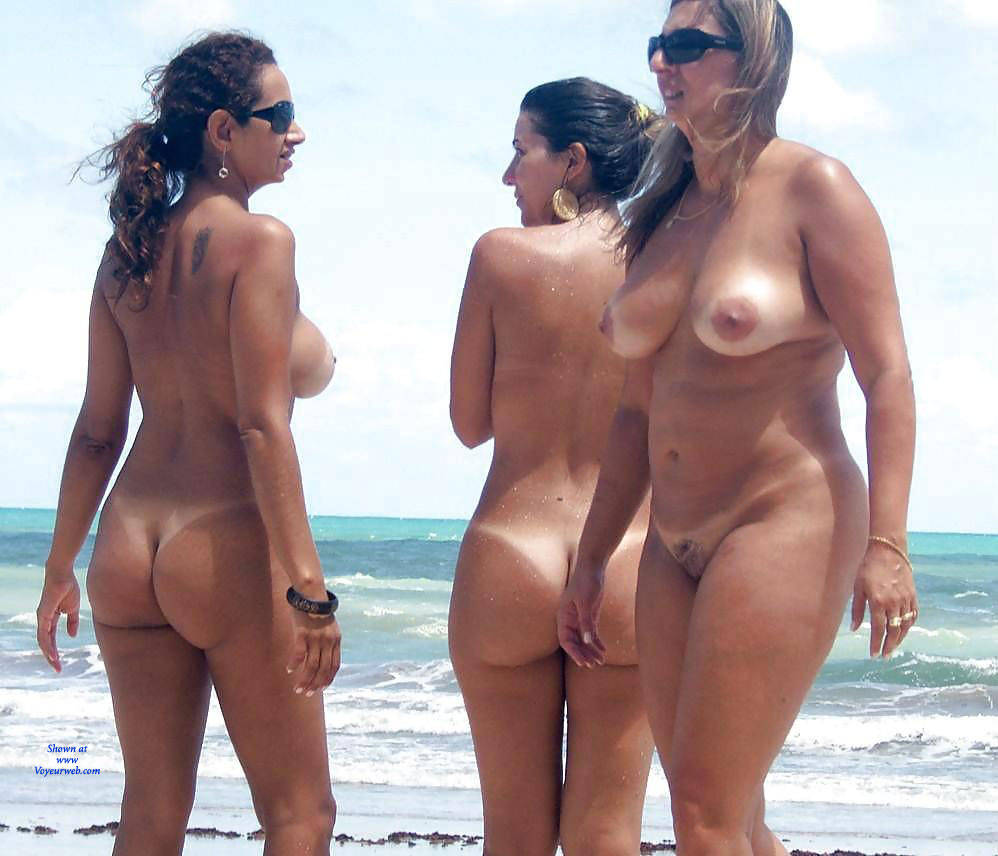 Brazil nude beach women with