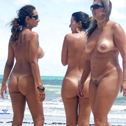 Tambaba Beach, Brazil - Nude Girls, Outdoors