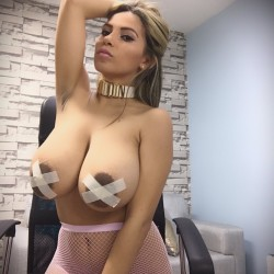 Extremely large tits of a neighbor - Sexy Te Amo