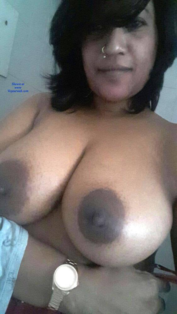 Pic #4 Bouncy Boobs - Big Tits, Brunette, Amateur