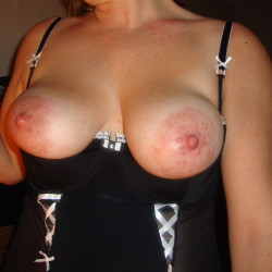Large tits of my wife - Blondie