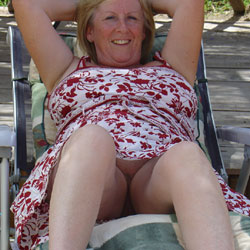 Public Upskirt - Mature, Outdoors, Shaved, Amateur, Pantieless Wives