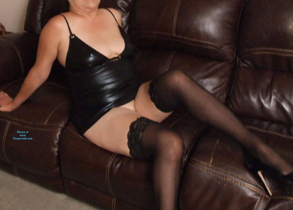 Pic #2 Little Black Dress - Pantieless Wives, Big Tits, Shaved, Amateur