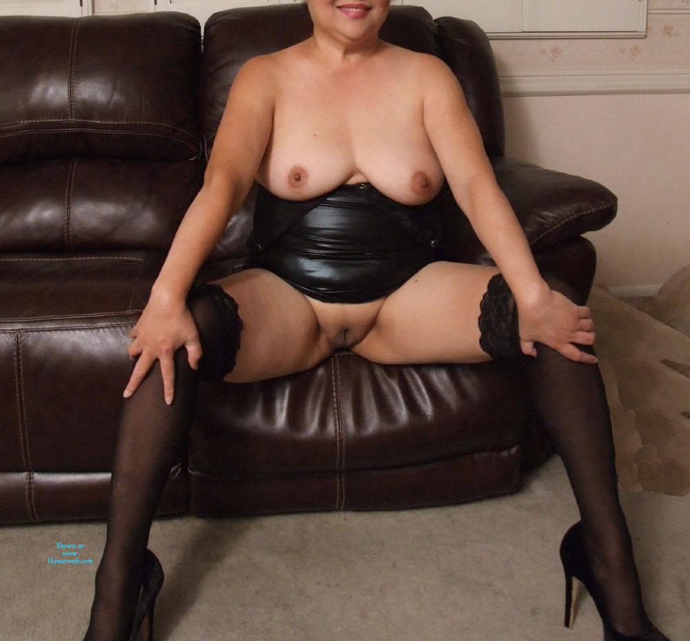Pic #5 Little Black Dress - Pantieless Wives, Big Tits, Shaved, Amateur
