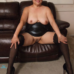 Little Black Dress - Pantieless Wives, Big Tits, Shaved, Amateur
