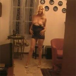 My Striptease Indoor - Nude Girls, Blonde, High Heels Amateurs, Striptease, Amateur, Girls Stripping, See Through
