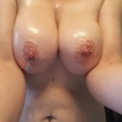 Very large tits of my girlfriend - Kristel