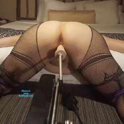 Some Time On The Machine - Lingerie, Toys, Amateur