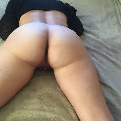 My girlfriend's ass - rx