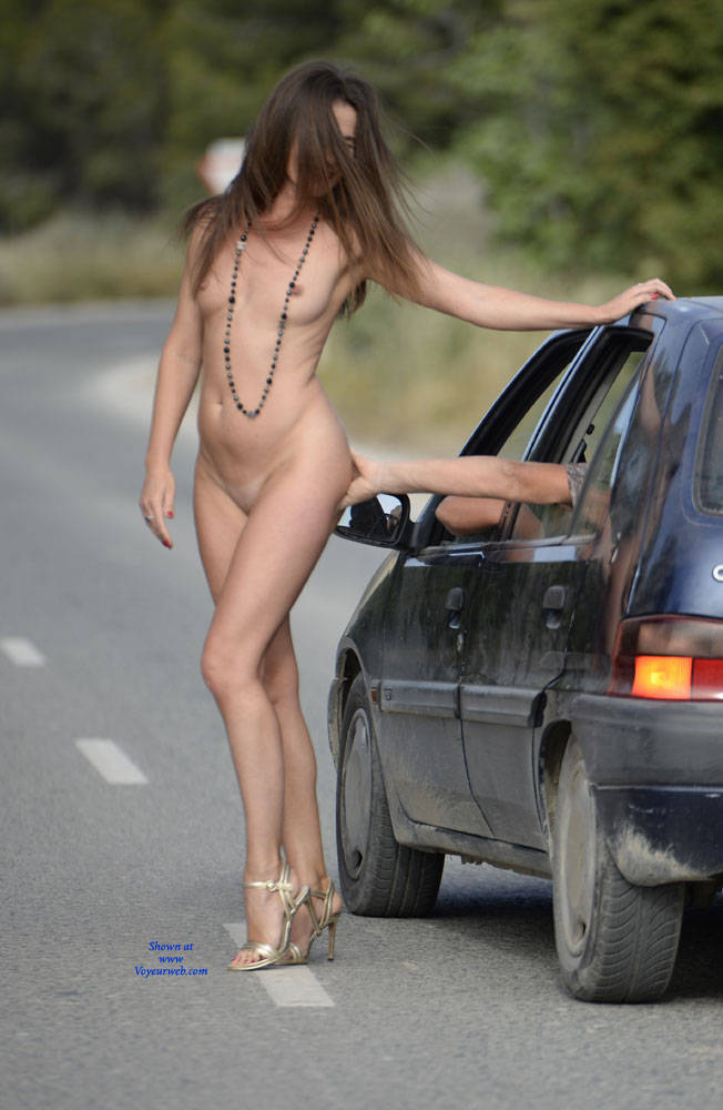 Naked Along The Road - Brunette Hair, Exposed In Public, Flashing, Heels, Naked Outdoors, Nude In Public, Nude Outdoors, Shaved Pussy, Small Breasts, Small Tits, Hot Girl, Naked Girl, Sexy Body, Sexy Face, Sexy Figure, Sexy Girl, Sexy Legs, Sexy Woman , Outdoors, Nude, Small Tits, Shaved Pussy, Heels, Sexy Legs, Brunette