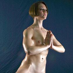 Yoga Studio - Nude Girls, Redhead