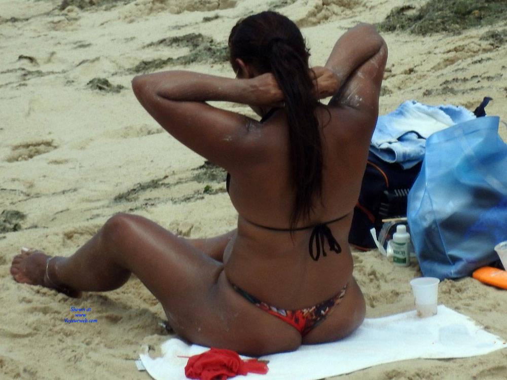 Pic #1 Summer In Janga Beach, Brazil - Beach, Brunette, Outdoors, Bikini Voyeur, Beach Voyeur