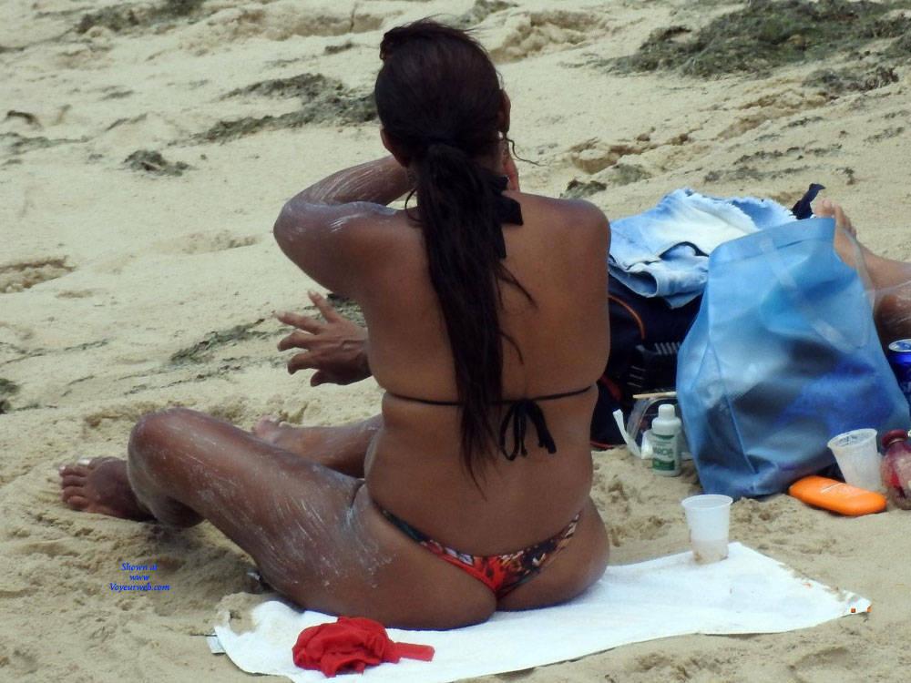 Pic #2 Summer In Janga Beach, Brazil - Beach, Brunette, Outdoors, Bikini Voyeur, Beach Voyeur