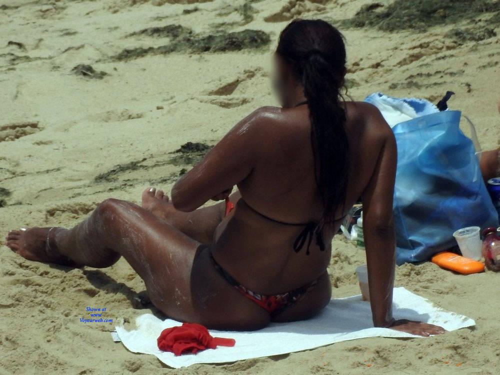 Pic #3 Summer In Janga Beach, Brazil - Beach, Brunette, Outdoors, Bikini Voyeur, Beach Voyeur