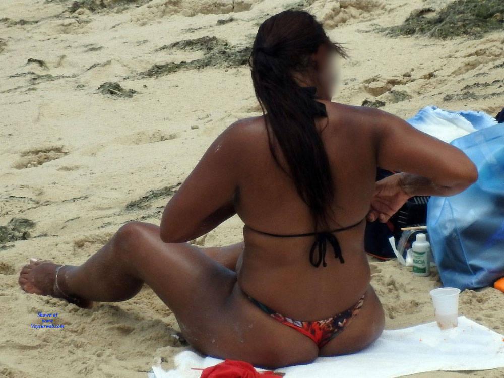Pic #4 Summer In Janga Beach, Brazil - Beach, Brunette, Outdoors, Bikini Voyeur, Beach Voyeur