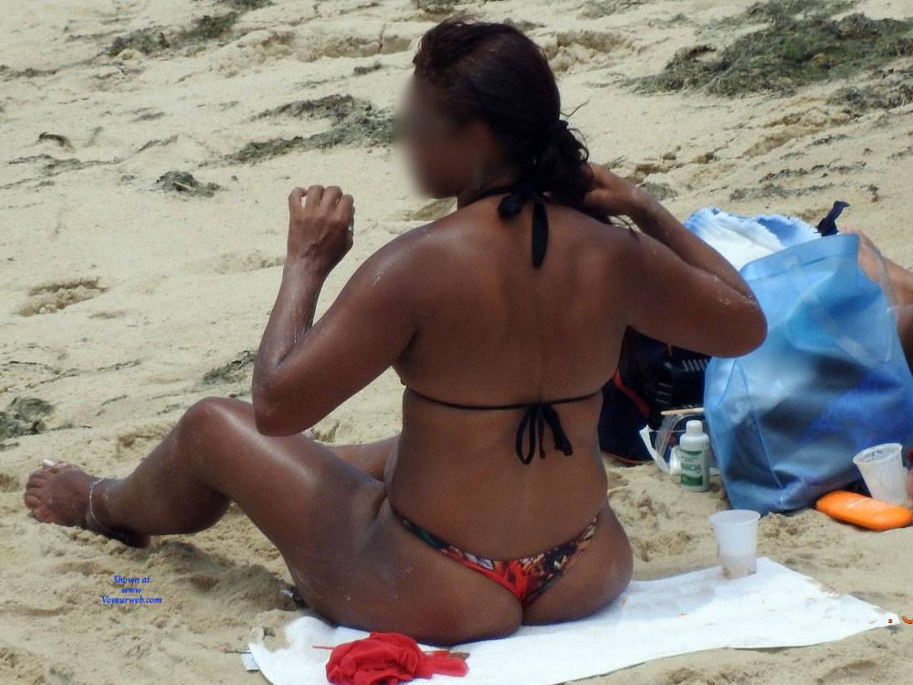 Pic #5 Summer In Janga Beach, Brazil - Beach, Brunette, Outdoors, Bikini Voyeur, Beach Voyeur