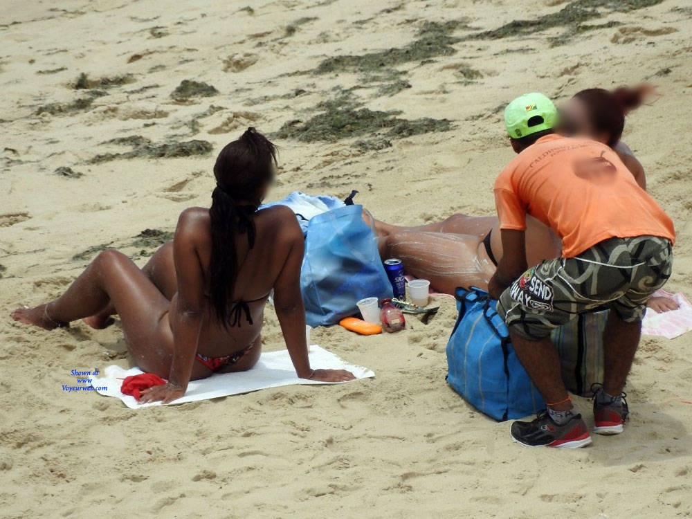 Pic #8 Summer In Janga Beach, Brazil - Beach, Brunette, Outdoors, Bikini Voyeur, Beach Voyeur