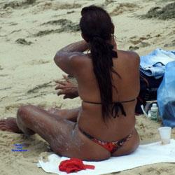 Summer In Janga Beach, Brazil - Beach, Brunette, Outdoors, Bikini Voyeur, Beach Voyeur