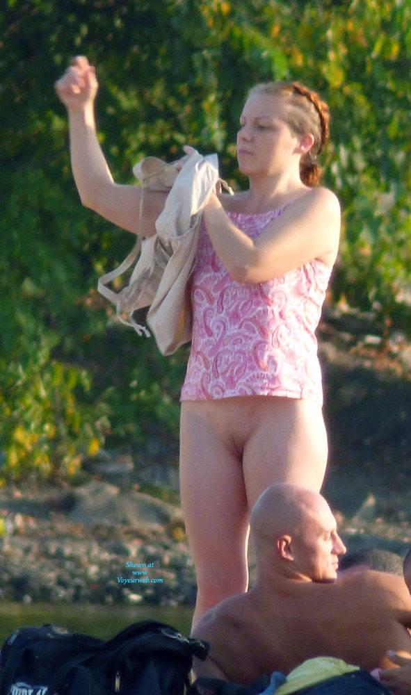 Pic #9 Accurate Shots - Beach, Brunette, Outdoors, Beach Voyeur