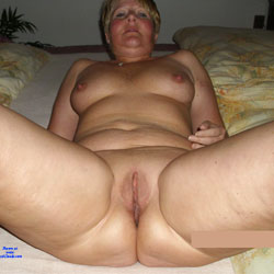 On The Bed - Nude Amateurs, Big Tits, Shaved
