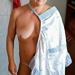 In The Kitchen - Nude Wives, Big Tits, Amateur