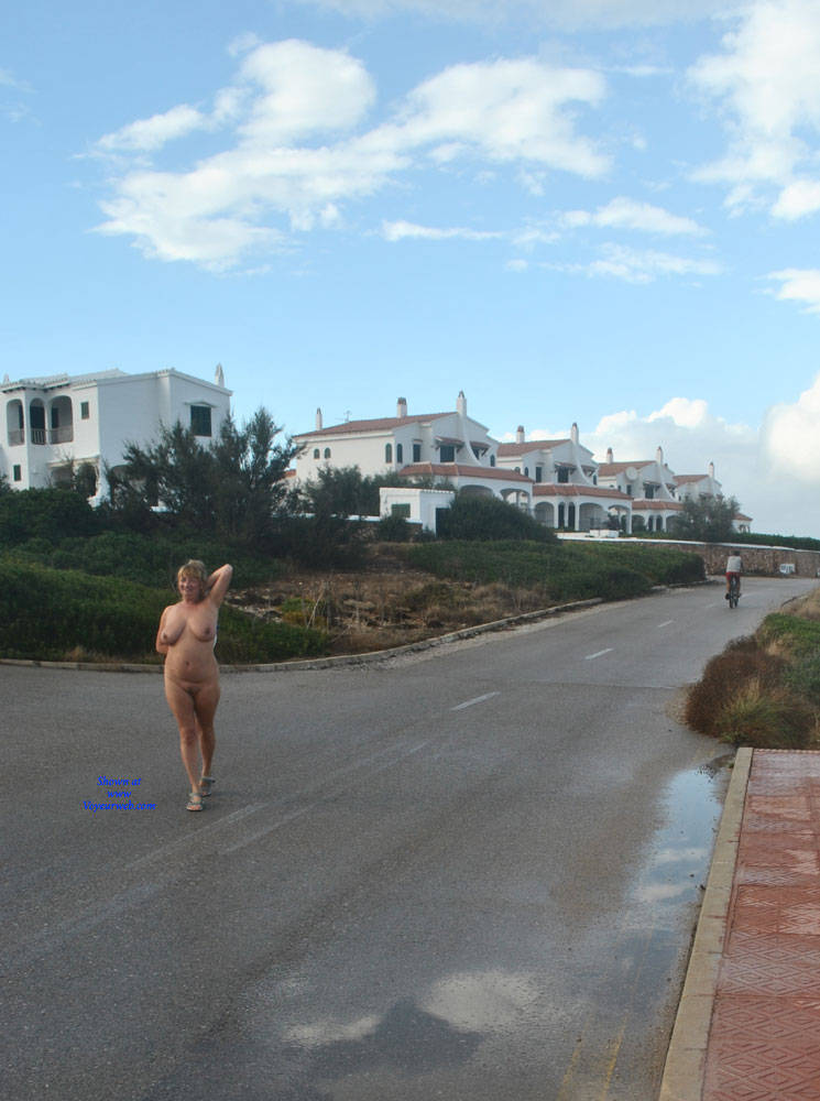 Pic #6 Nude Walk To Our Locations - Nude Girls, Big Tits, Public Exhibitionist, Flashing, Outdoors, Public Place, Amateur