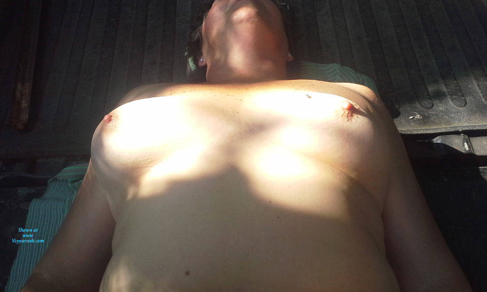 Pic #8 Outdoor Fun - Nude Amateurs, Big Tits, Outdoors