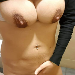 While Working - Big Tits, Amateur