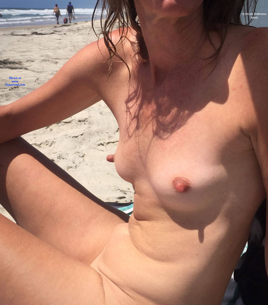 Pic #5 Nirvana Beach Tease - Nude Amateurs, Beach, Outdoors, Shaved
