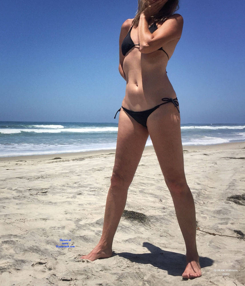 Pic #1 Nirvana Beach Tease - Nude Amateurs, Beach, Outdoors, Shaved