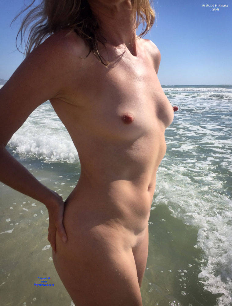 Pic #7 Nirvana Beach Tease - Nude Amateurs, Beach, Outdoors, Shaved