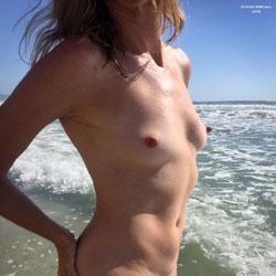Nirvana Beach Tease - Nude Amateurs, Beach, Outdoors, Shaved