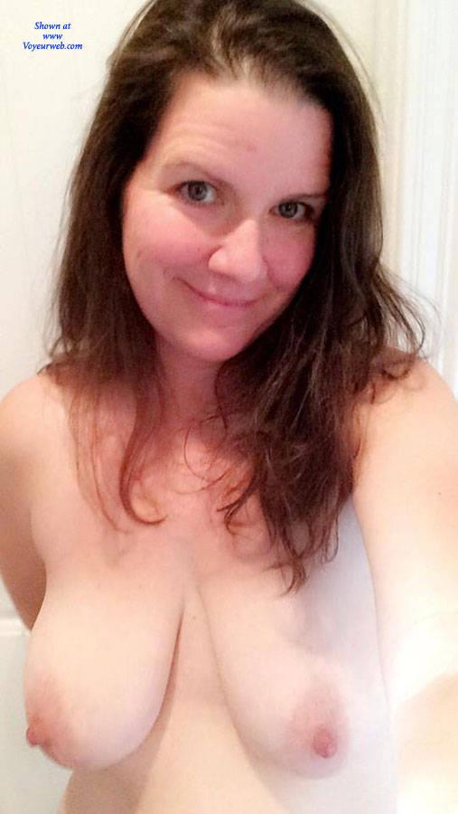 Pic #3 Milf Sends Nudes - Big Tits, Brunette, Amateur