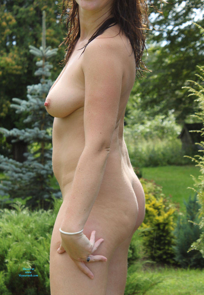 Pic #1 In Nature - Nude Amateurs, Brunette, Outdoors, Nature