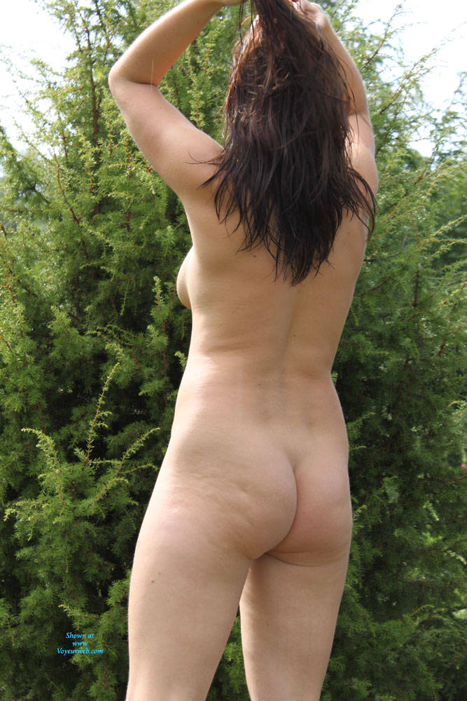 Pic #5 In Nature - Nude Amateurs, Brunette, Outdoors, Nature